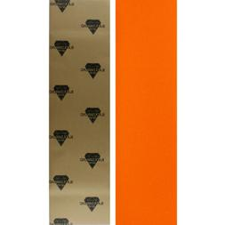 BLACK DIAMOND Skateboard GRIPTAPE 1 Sheet ORANGE 9 in