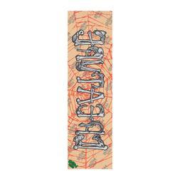 Mob Skateboard Griptape Creature Bones Clear Grip Tape Sheet