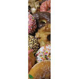 "Mob Skateboard Griptape Pink Box Donuts 9"" x 33"" Grip Tape S"