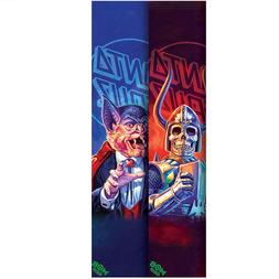 "Mob Skateboard Griptape Santa Cruz the Worst 9"" x 33"" Grip T"