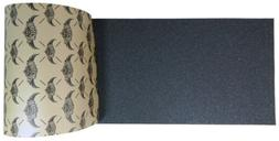 skateboard griptape sheet black 9 x 33