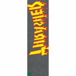 Mob Skateboard Griptape Thrasher Flame Logo Grip Tape Sheet
