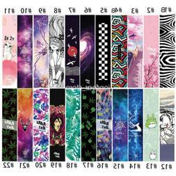Skateboard Longboard Board Grip Tape Sticker Diamond Sheet G