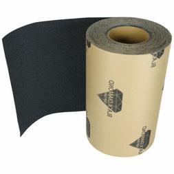 SKATEBOARD LONGBOARD Grip Tape ROLL 10 in x 60' BLACK Gripta
