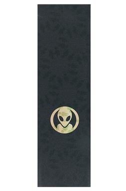 """Alien Workshop Skateboards """"Dot Logo"""" Griptape 9 x 33 Black"""