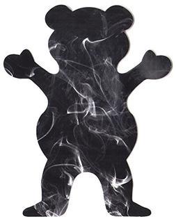 Grizzly Griptape Smoke Fill Bear Skateboard Sticker - 13cm h