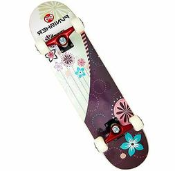 Punisher Skateboards Soul Complete 31-Inch Skateboard with C
