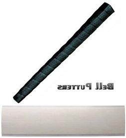 Tacki-mac Perforated Wrap Standard Black Pistol Putter Grip-