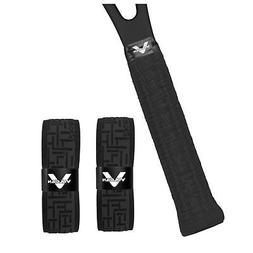 Vulcan Tennis Grip Tape Racket Replacement Overgrip, Black G