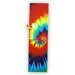 """Grizzly Tie Dye Skateboard Grip Tape Sheet 9"""" x 33"""" Griptape"""