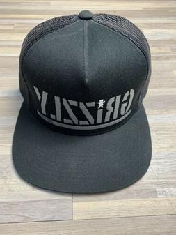 Grizzly Griptape Trucker Snapback Hat Black/White Circa 2014