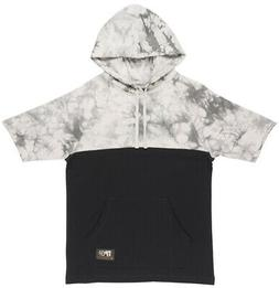 Grizzly Griptape Two Tone French Terry Short Sleeve Hoodie P