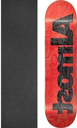 Almost Skateboards Ultimate Red Skateboard Deck Resin-7-8.25