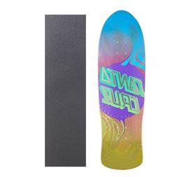 """Santa Cruz Vertigo Flow Dot 9.4"""" Skateboard with Grip Tape"""