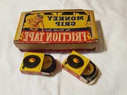 Vintage Monkey Grip, Mechanics Friction Tape  16 NOS in Box,