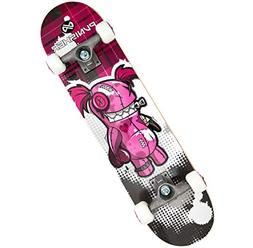 Punisher Skateboards Voodoo  Complete 31-Inch Skateboard All