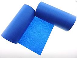 """4"""" in WIDE 3D Printing LOW TEMP Blue Painters Tape Masking C"""
