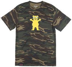 Grizzly Griptape x Adventure Time Homies Help T-Shirt Cartoo