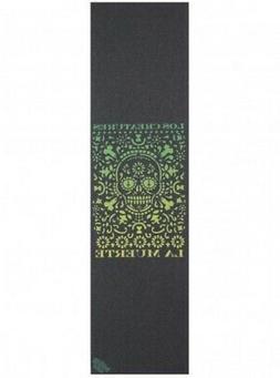 Creature x Mob La Muerte Grip Tape Black Green 9x33