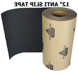 "12"" x 20' BLACK Roll Safety Non Skid Tape Anti Slip Tape Sti"