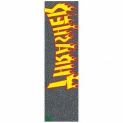 "MOB x Thrasher Magazine ""Flame Logo"" Skateboard 9 x 33 Gript"